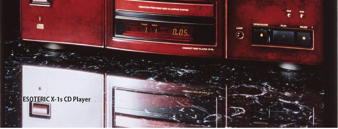 ESOTERIC X-1s CD Player