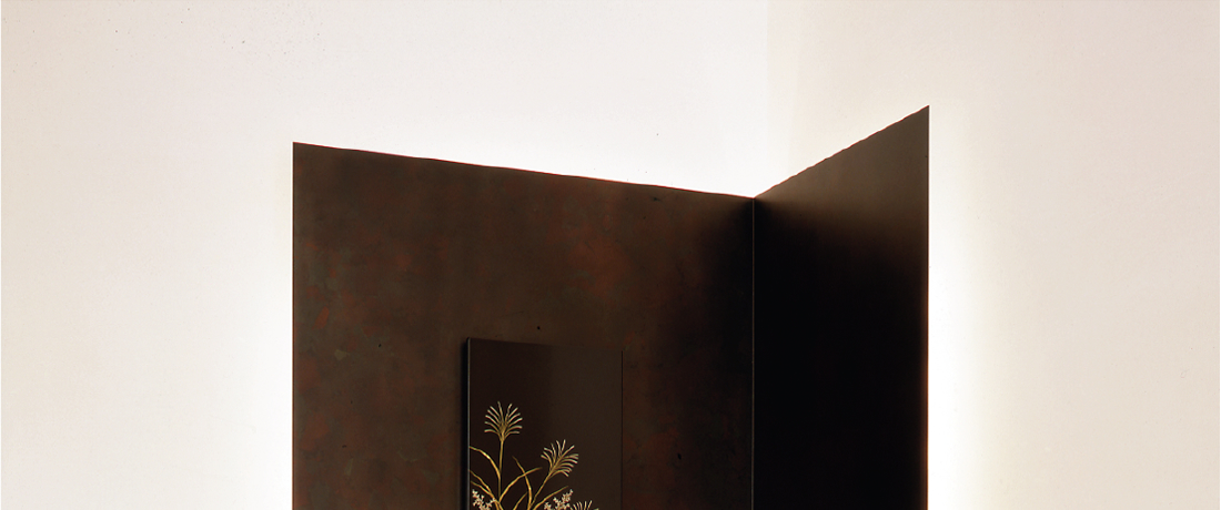 茶室 照明付パネル 1