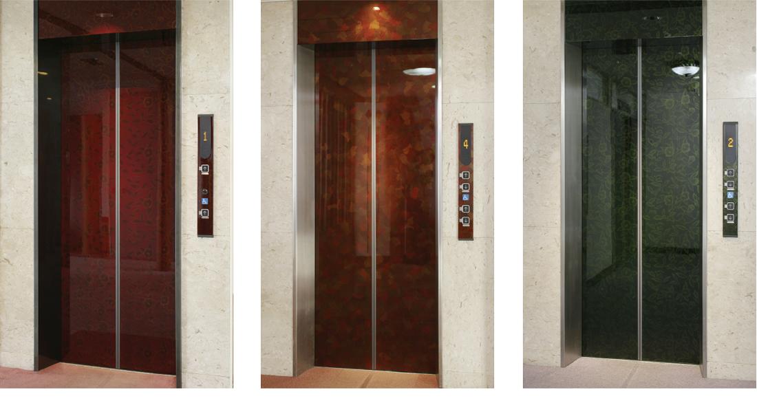ホテルニューパレス エレベーター扉・3方枠(福島県会津若松市)1