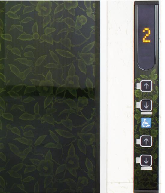 ホテルニューパレス エレベーター扉・3方枠(福島県会津若松市)2