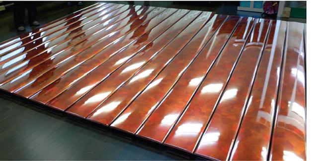 寺院の祭壇のための壁面パネル・テーブルの天板・厨子展示コーナー 3