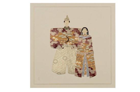 URUSHI Art panelアートパネル MSタイプ MS-36U 山鳩 立雛