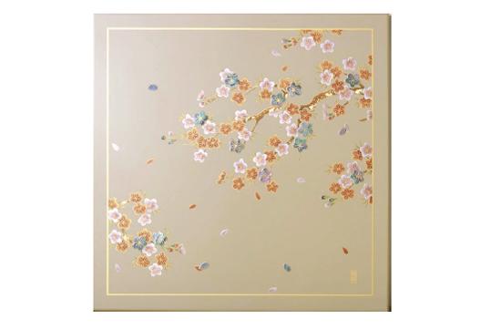 URUSHI Art panelアートパネル MSタイプ MS-63U 素色 らでん桜