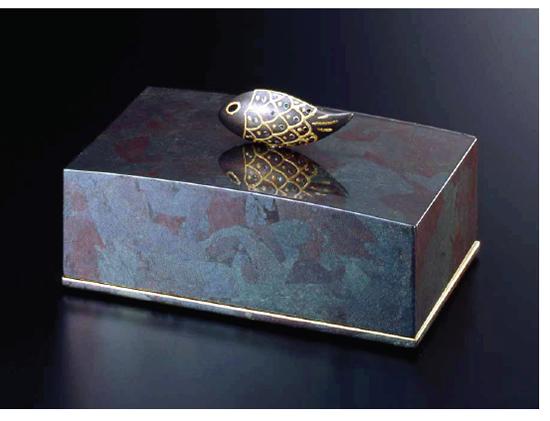 Jewelry box 宝石箱 銀古木 魚付