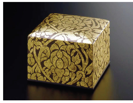 Jewelry box 二段宝石箱 金の唐草