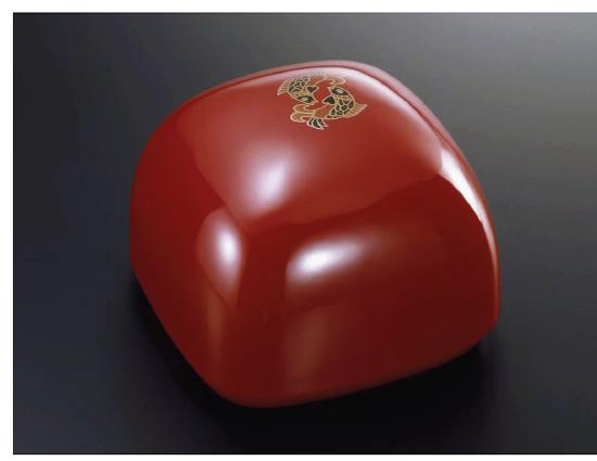 Jewelry box TAKARA 本朱 魚