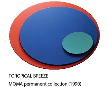 TOROPICAL BREEZE MOMA permanent collection(1990)