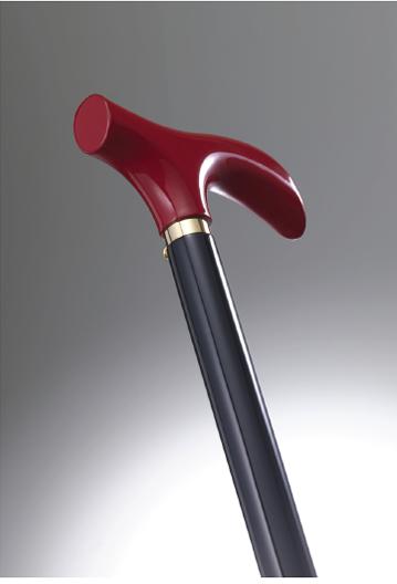 おしゃれなステッキ(URUSHI Stylish stick)朱& 黒