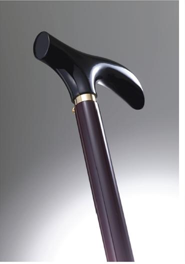 おしゃれなステッキ(URUSHI Stylish stick)黒あけぼの