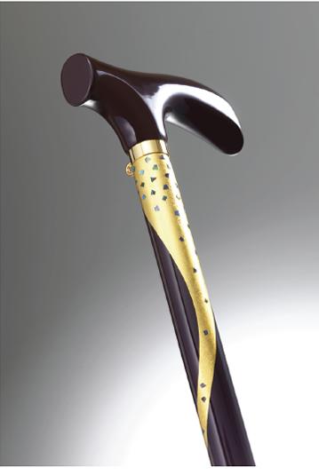 おしゃれなステッキ(URUSHI Stylish stick)