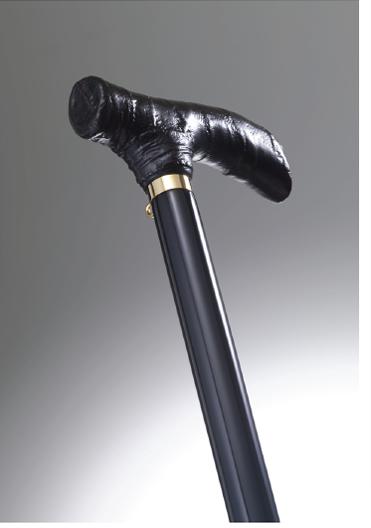 おしゃれなステッキ(URUSHI Stylish stick)黒布着せ