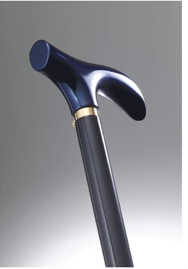 おしゃれなステッキ(URUSHI Stylish stick)モルフオブルー& 黒