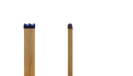 ステッキチェアー(Chair placing a Walking stick)無垢の国産栗材を使用したしっかりものです