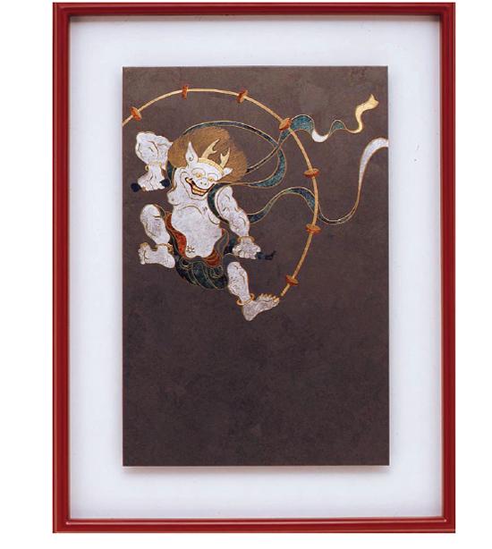 うるしアート(urushi-art) FL-16 いぶし銀 雷神