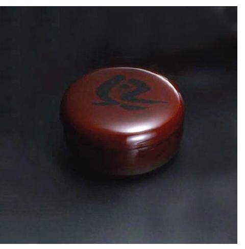 木地呂(KIJIRO URUSHI Lacquerware) Y-172 38 蓋付菓子器