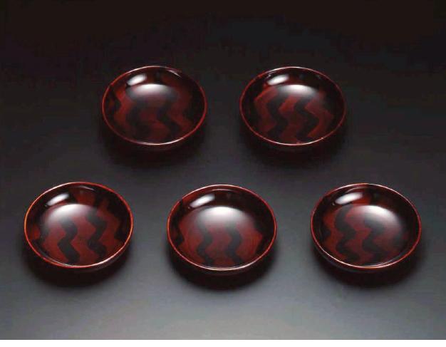 木地呂(KIJIRO URUSHI Lacquerware) Y-186 小皿